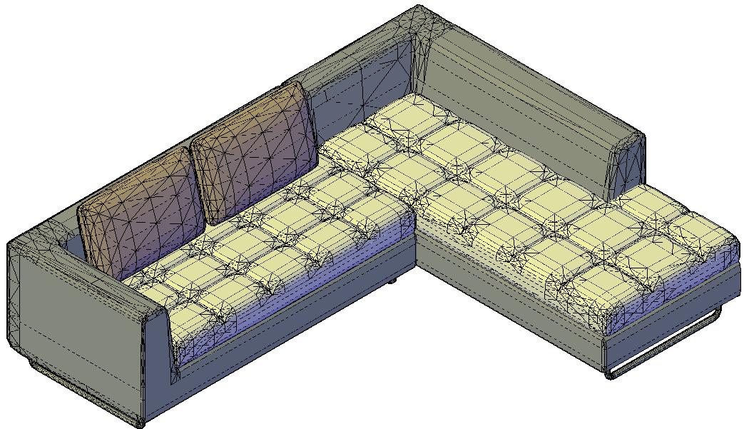 furnitures 3d drawing file