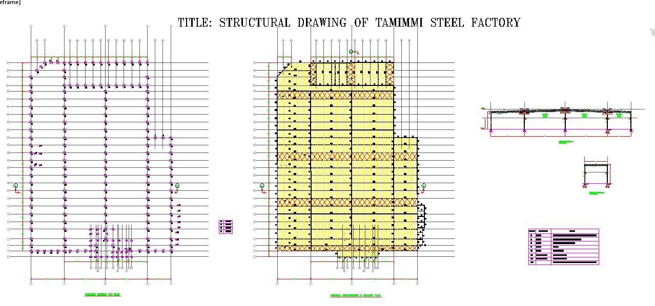 general arrangement & framing plan