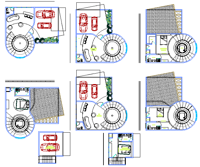hotel plan design dwg file