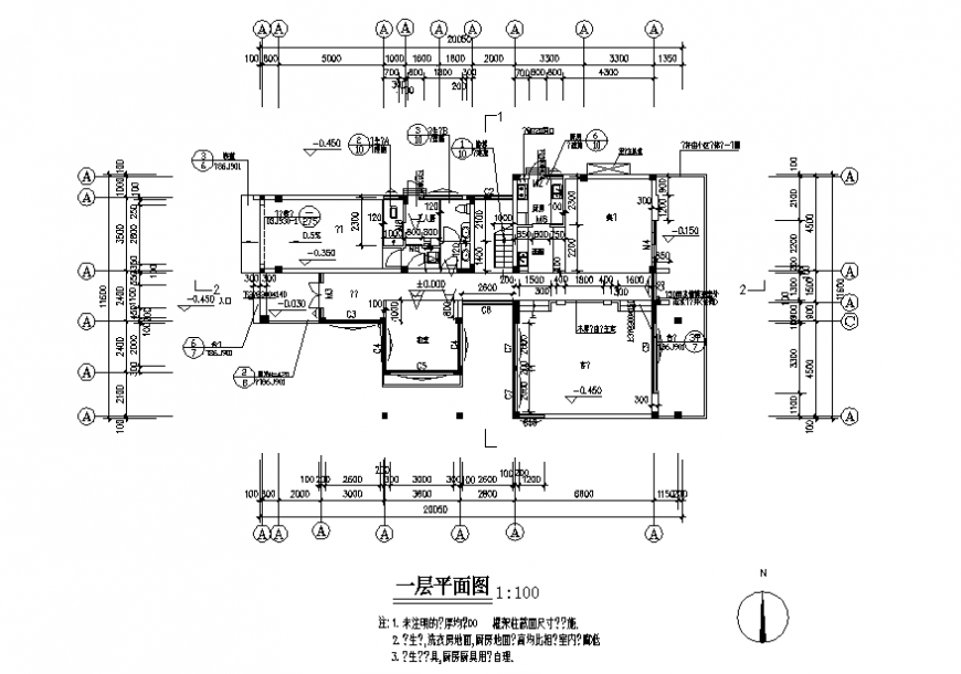 Housing working planning detail layout file