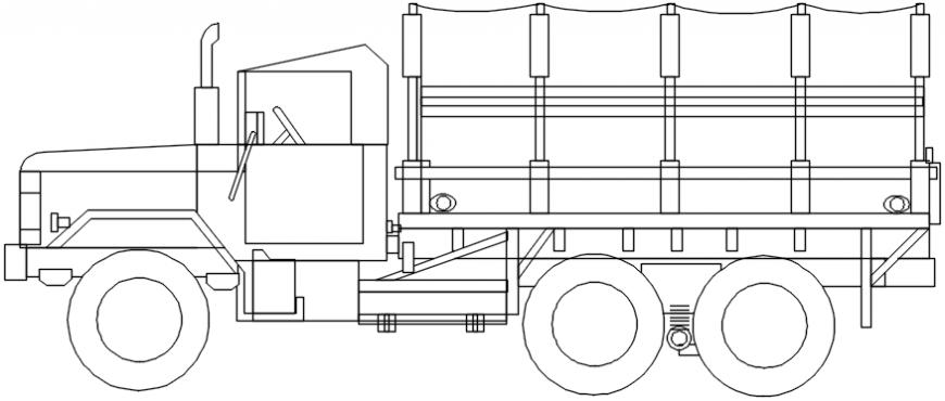 Lorry 2d blocks