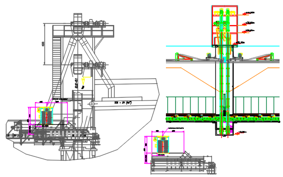 machinery dwg file
