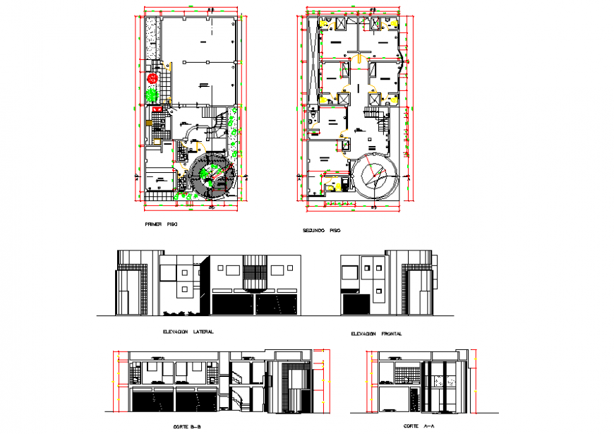Modern Residential House Architecture Design