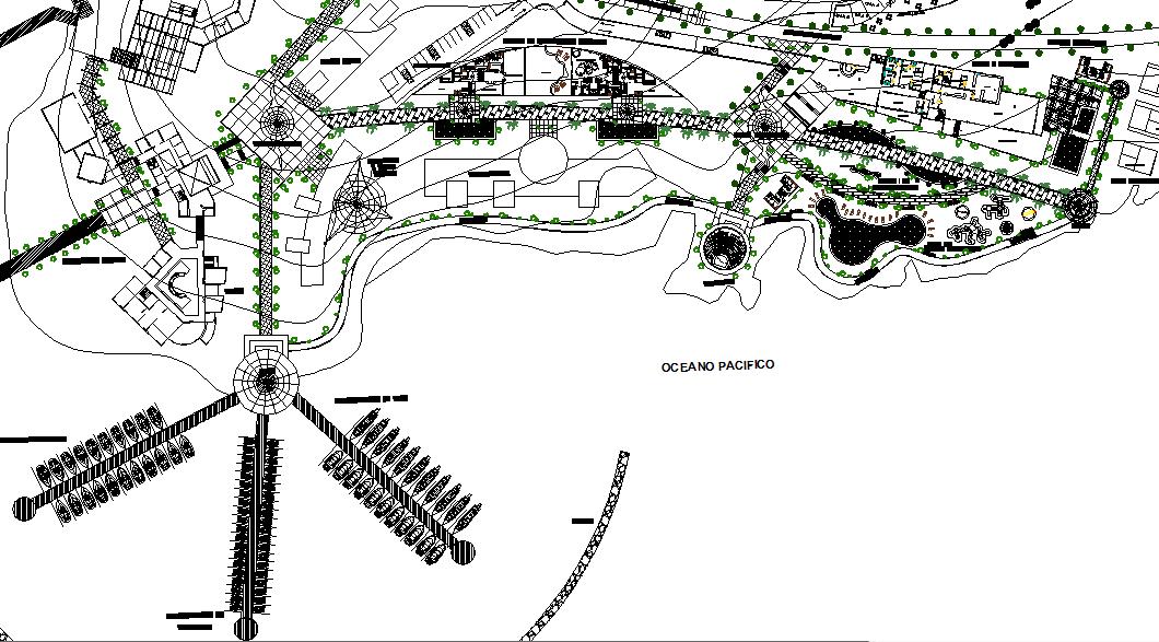 nautical club design drawing dwg file