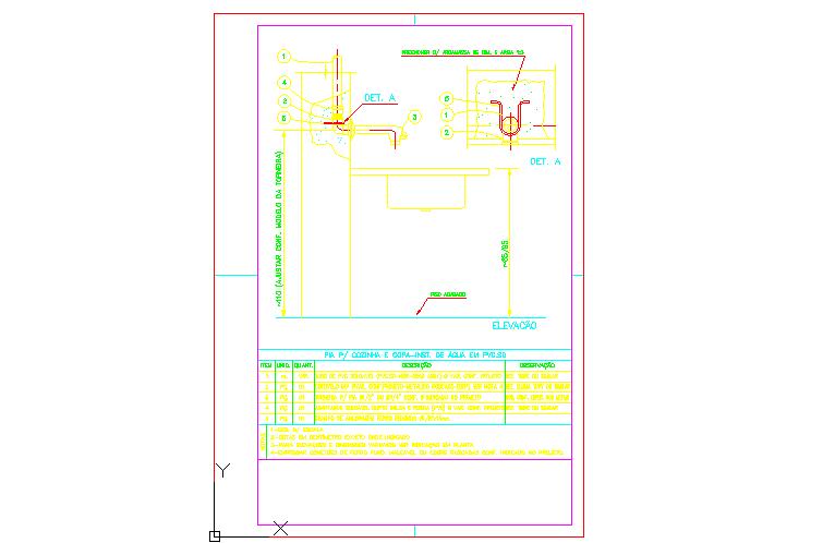 plumbing fixtures of kitchen