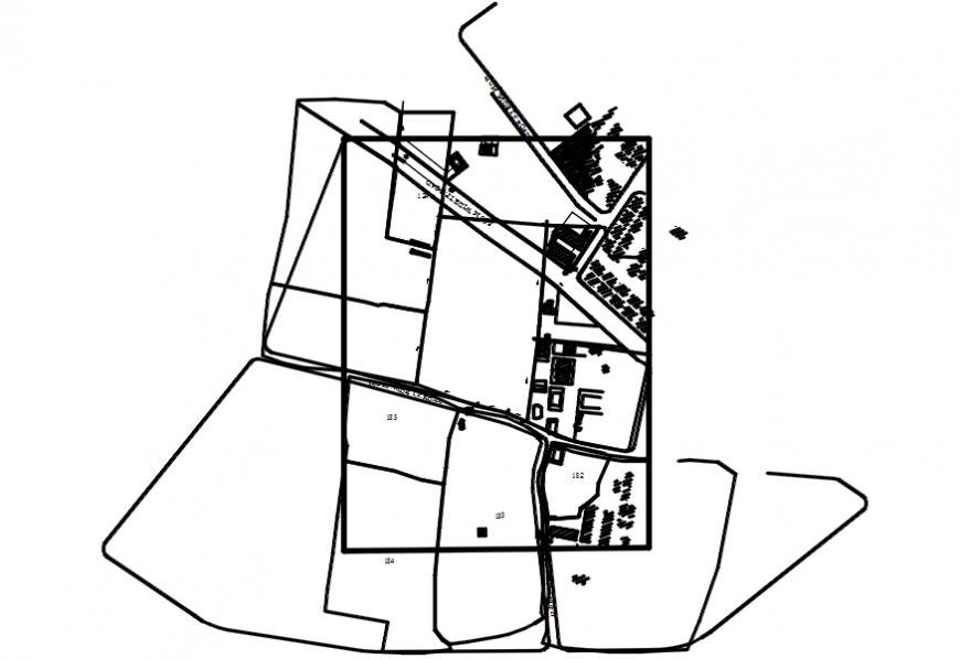 Road map detail plan