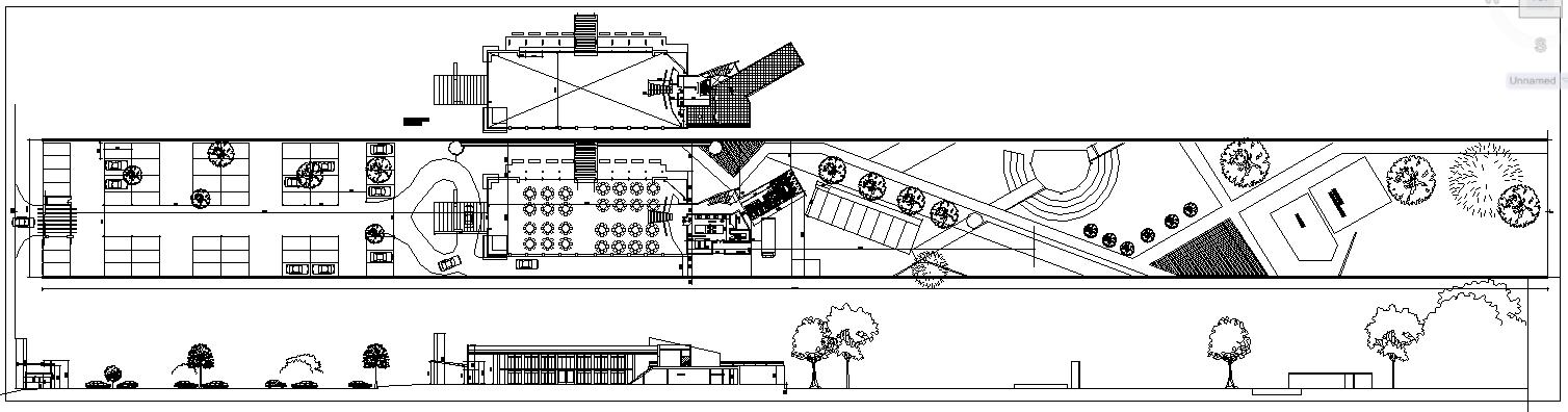 russian model design of a hotel plan elevation design dwg file