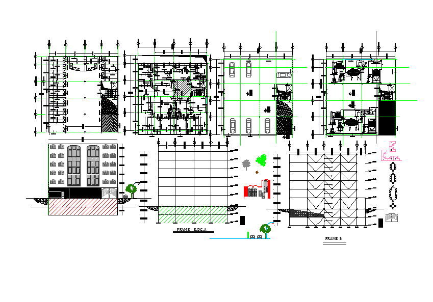 structural design of residential building