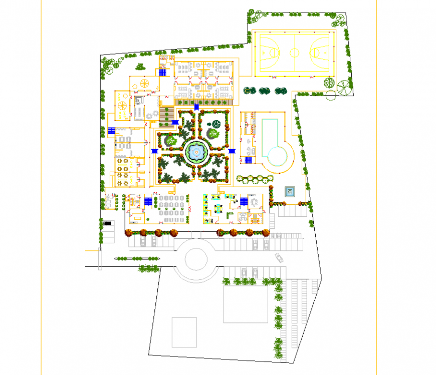 The layout structural plan & a detailed dwg file.